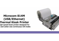 microcom kiosk printer