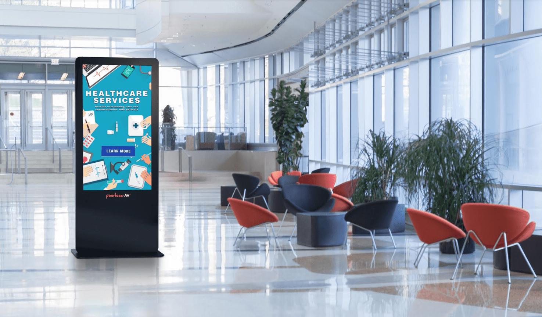 All-In-One Kiosk Powered by BrightSign – Peerless-AV