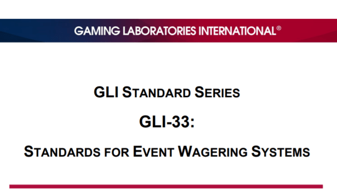 standards for wagering kiosks released by GLI