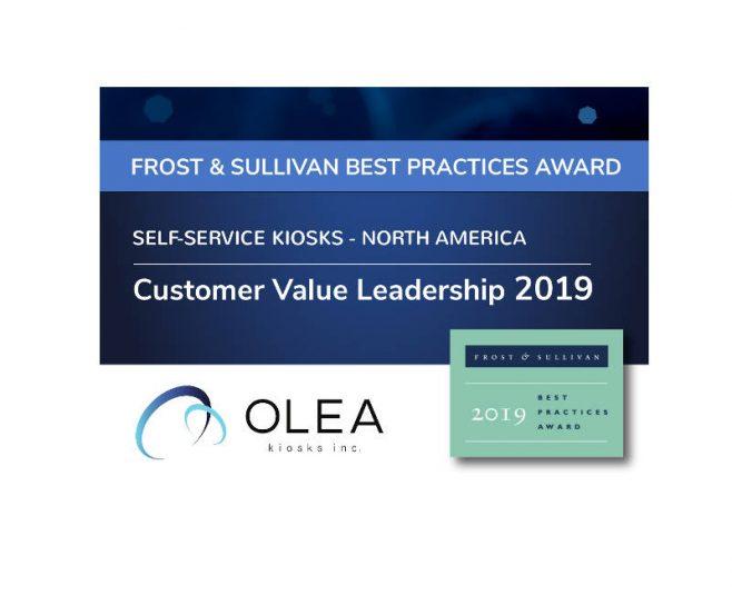 Frost Sullivan Olea Kiosks Award Outdoor Kiosk Design