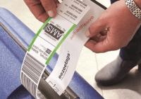 self-adhesive bag tag printers