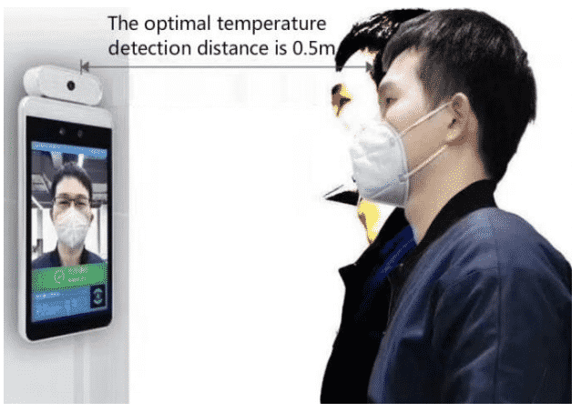 temperature taking kiosks