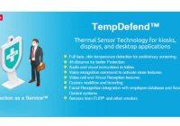 thermal sensing kiosk