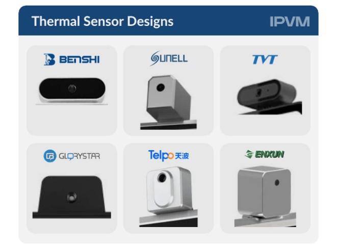 temperature kiosk sensors