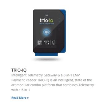 credit card reader Trio-IQ