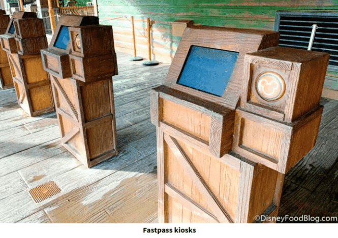 Disney FastPass Kiosks