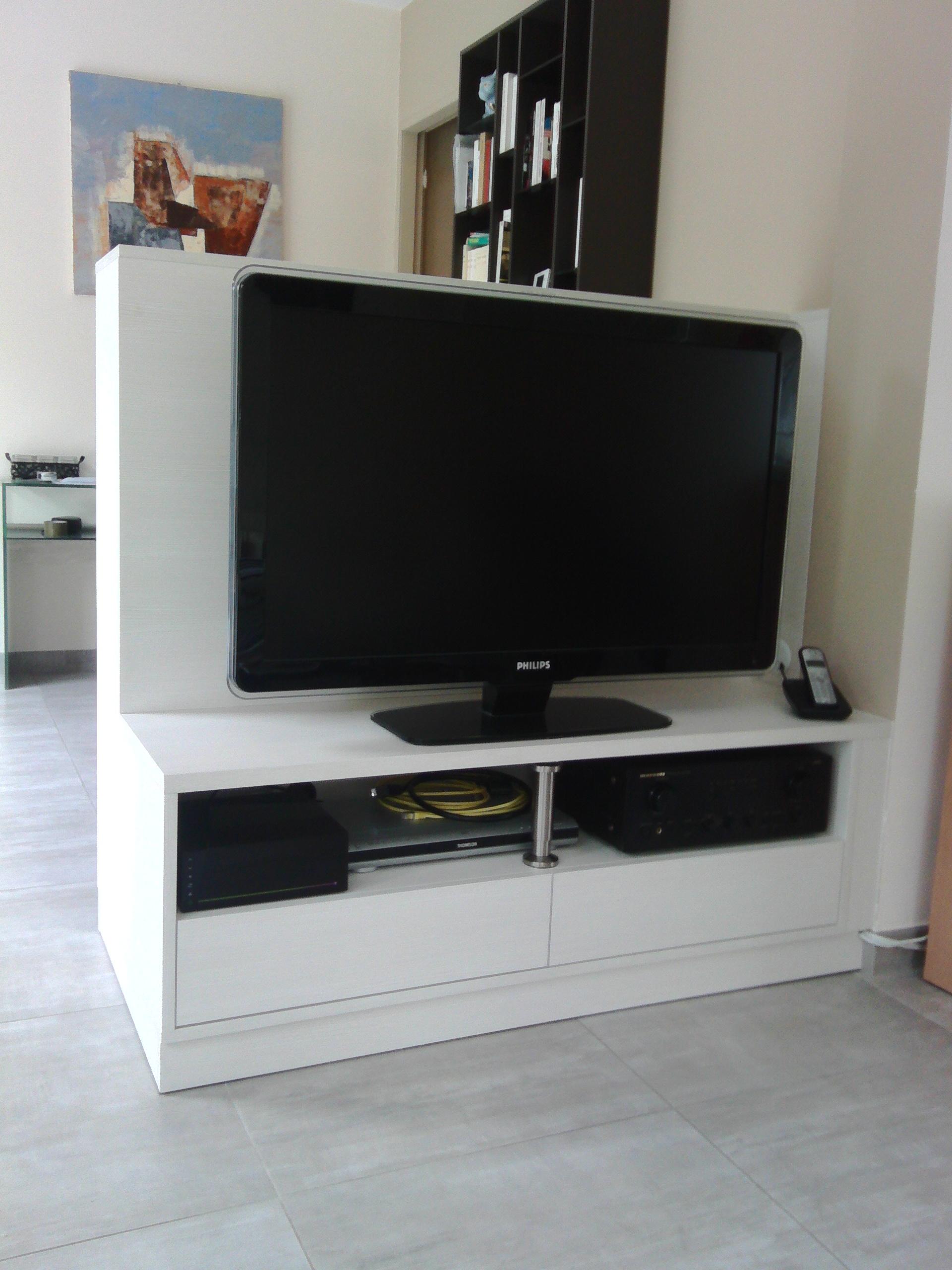Meuble TV En Sparation De Pices Le Kiosque Amenagement