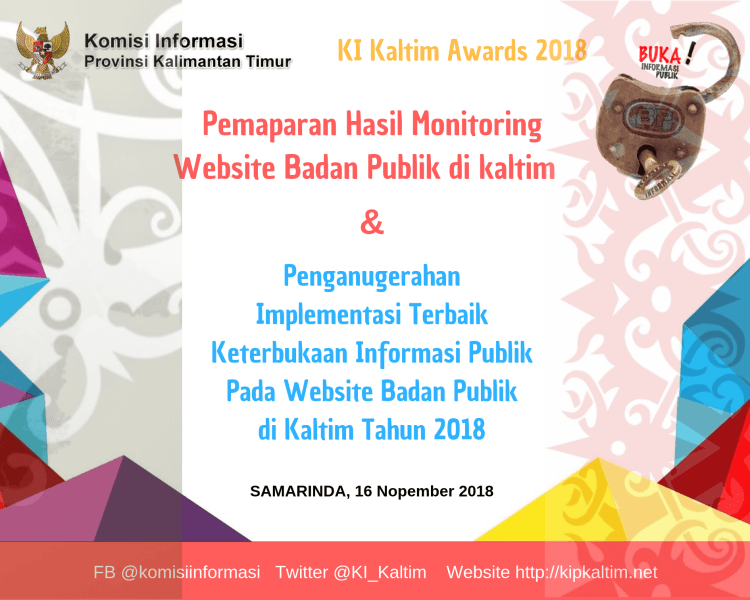 KI Kaltim Awards 2018 - backdrop (1)