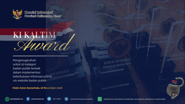 KI Kaltim Awards 2018