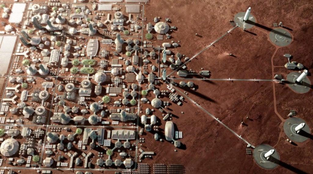 Colonie future su Marte
