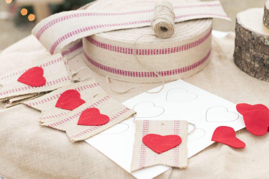 Valentine Bunting DIY