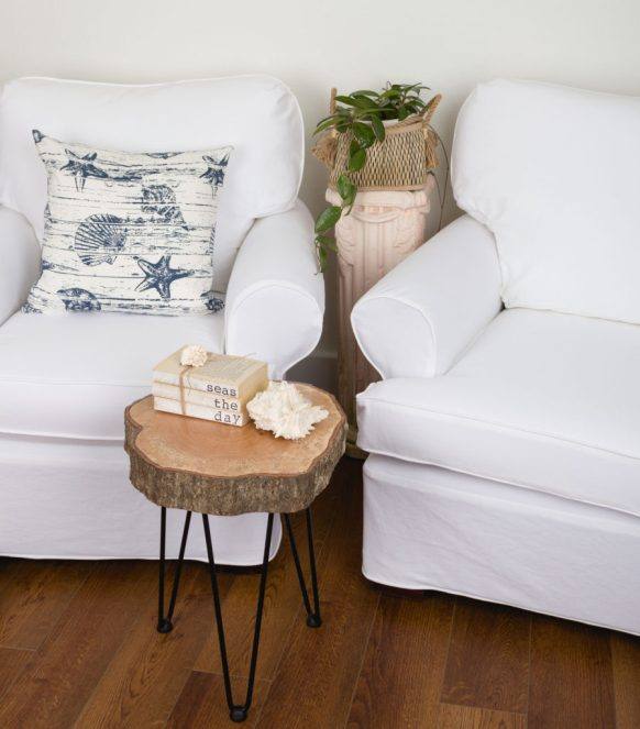 White Twill Slipcovers by Kippi at Home