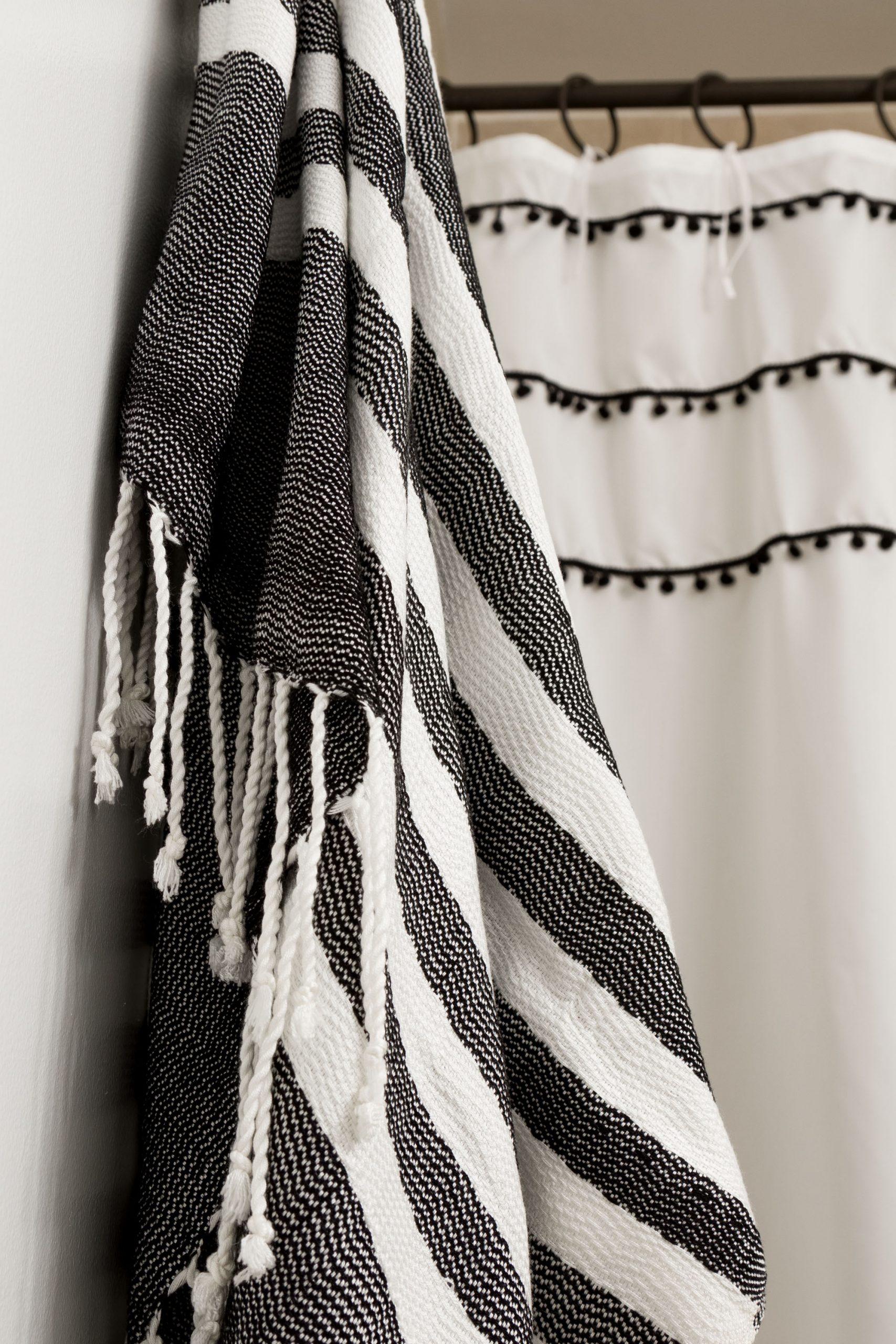 turkish towels boho style shower
