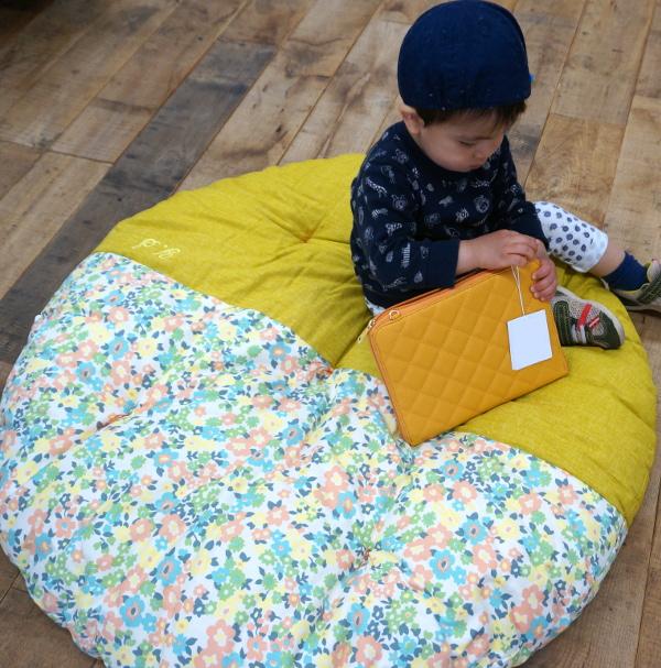赤ちゃんせんべい座布団