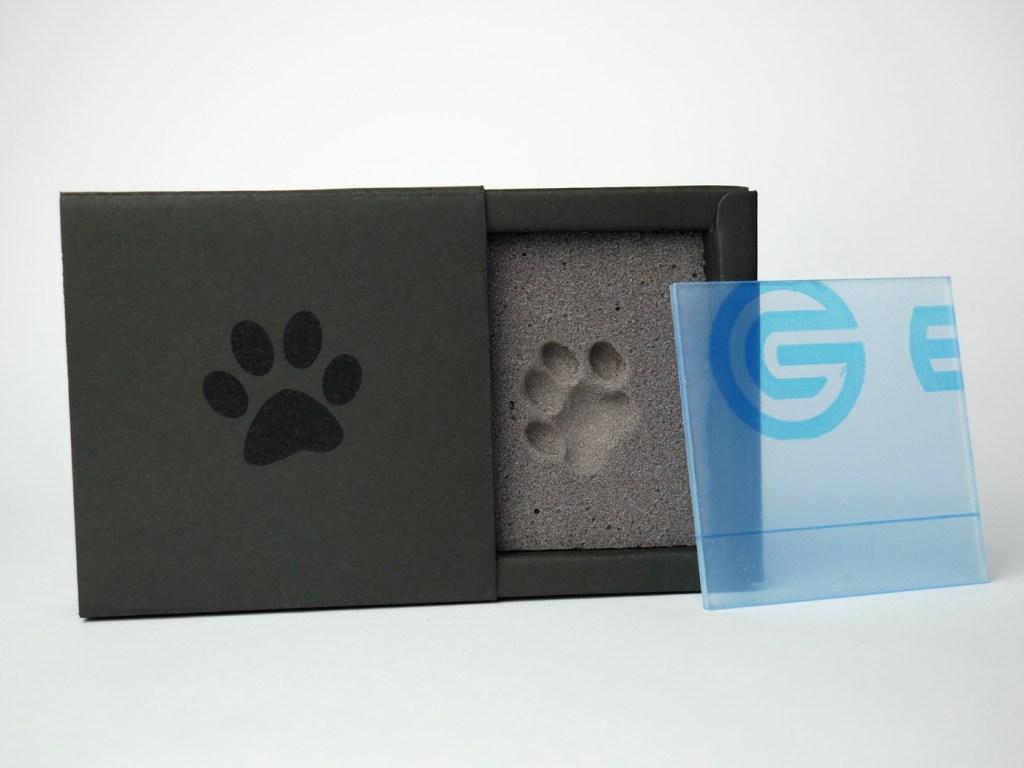 PawPrint Box schwarz