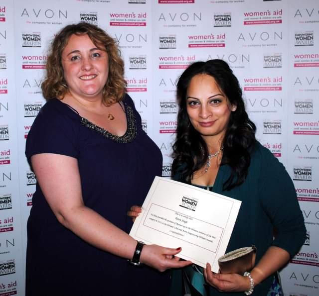1st Runner-up Empowering Women Awards