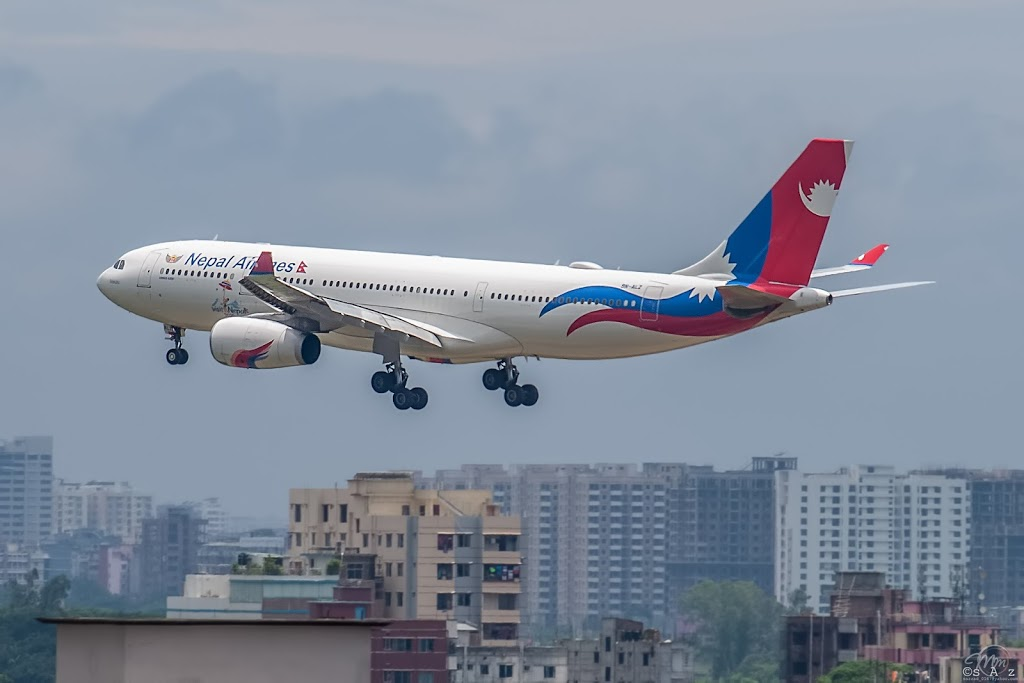 Nepal Airlines Airbus A330 Aircraft Image