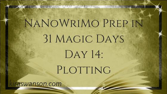 Day 14: 31 Magic Days of NaNoWriMo Prep