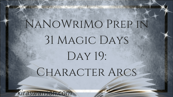 Day 19: 31 Magic Days of NaNoWriMo Prep