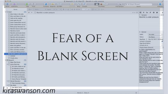 Fear of a Blank Screen