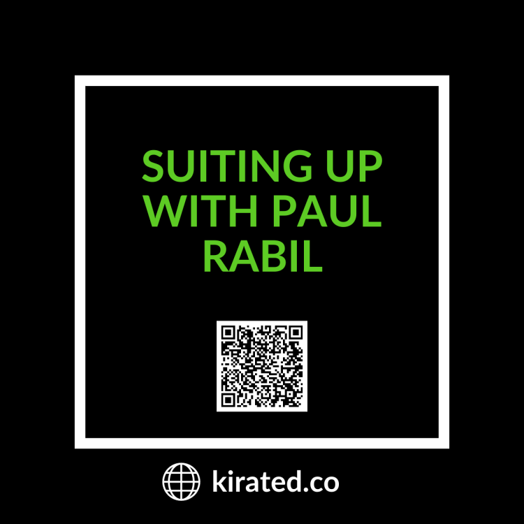 Podcast: Suiting Up with Paul Rabil with QR CODE TOP PODCASTS