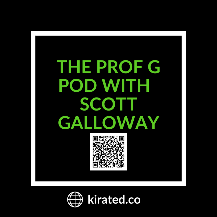 PODCAST: The Prof G Pod with Scott Galloway with QR CODE TOP PODCASTS