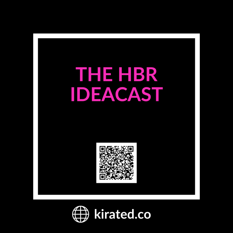 Podcast: The HBR Ideacast with QR Code TOP PODCASTS