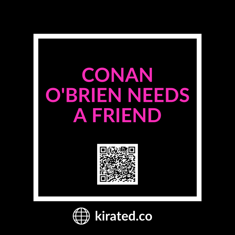 PODCAST: Conan O'Brien Needs a Friend QR Code TOP PODCASTS
