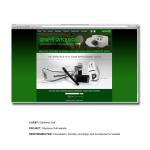 Grip4orce Golf website