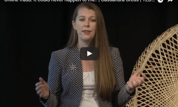 Video Online fraud: It could never happen to me? | Cassandra Cross