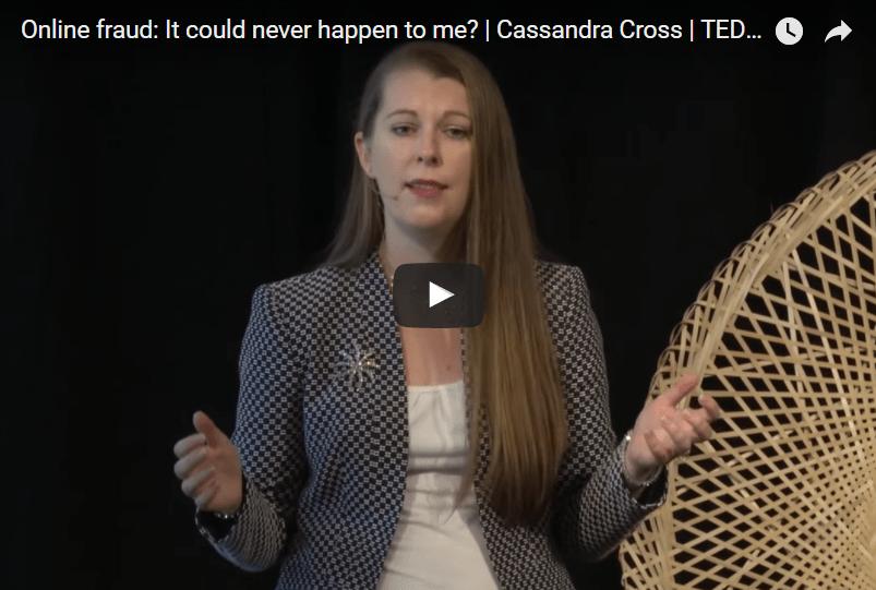 Video Online fraud: It could never happen to me? | Cassandra Cross