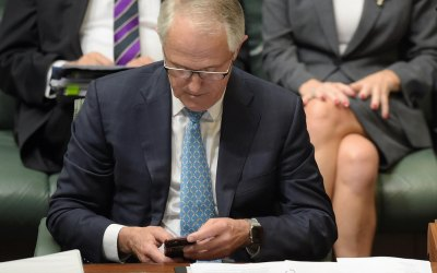 "Quote:  Malcolm Turnbull ""A denial of service attack is as predictable for a site like this as the rain will fall one day or the sun will come up in the morning"""