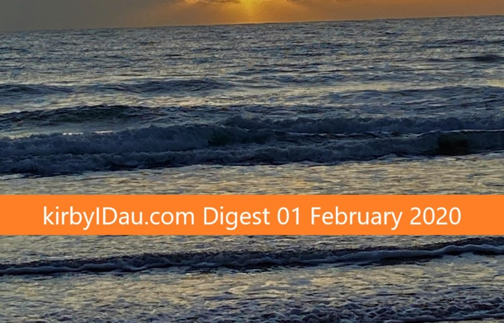 DIGEST 01 FEBRUARY 2020 | Australian Information and Cyber Security News