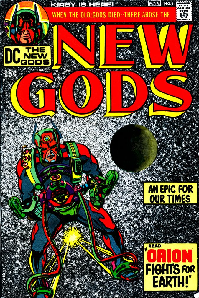 The New Gods 1 365 Days Of Jack Kirby S Fourth World