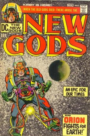 1971 - The New Gods #1 cover