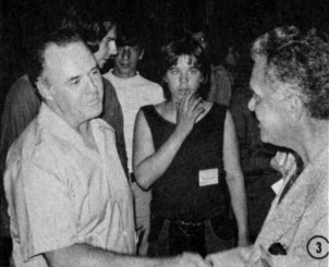 1972 New York Comic Art Convention - Joe Sinnott and Jack Kirby
