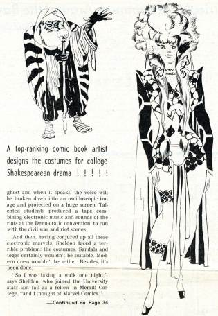 "1969 May 3 - ""Caesar Seen Marvel-ously"" part 2 photocopy"