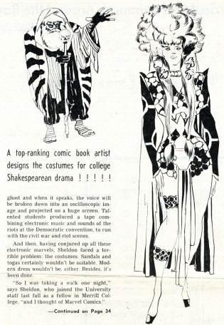 "1969 May 3 - ""Caesar Seen Marvel-ously"" part 2 photocopy"