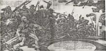 1976 - Captain America visits the Cyclorama pencil art
