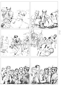 1962 - Hulk 6 unused page 11 pencil art