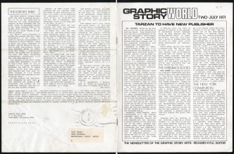 1971 July - Graphic Story World 2 back and front cover