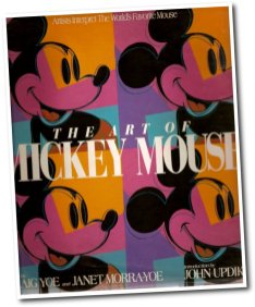 1993 - The Art Of Mickey Mouse cover