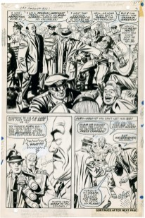1968 May – When Wakes The Sleeper page 3 original art