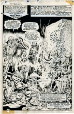 1968 May – When Wakes The Sleeper page 5 original art