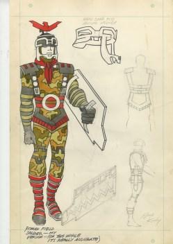 1969 - Roman Field Soldier original art