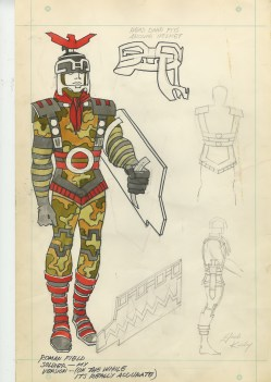 1969 - Roman Field Soldier original art