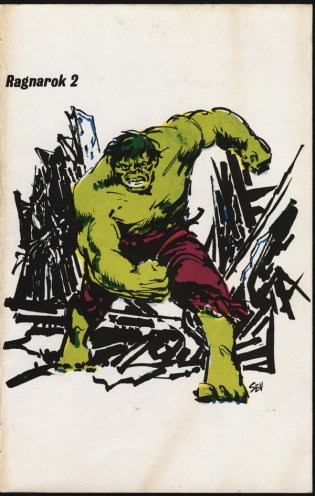 1972 - Ragnarok 2 cover