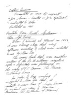 Handwritten notes signed by Jack Kirby - page 1