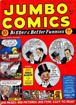 Jumbo #2 w/Kirby panel on cover