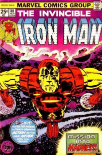 24 - Iron Man cover